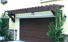 garage trellis over door pergola homes iron design arbor plans vinyl