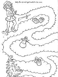 Coloring Pages Cartoon Grinch Coloring Pages The Sheets To Print