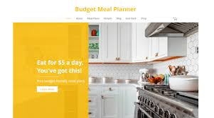 Meal Budget Planner Budget Meal Planner Eat For 5 A Day Inboxreads