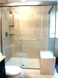 shower enclosures home depot sliding doors glass tub ho