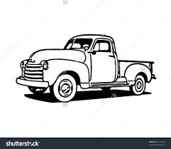 Classic trucks clipart - Clipart Collection | Vintage pick up truck ...