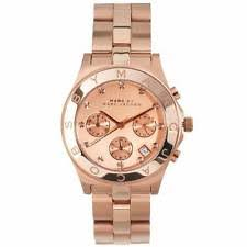 marc jacobs watch mens womens marc jacobs watches new marc by marc jacobs mbm3102 rose chronograph ladies watch rrp £