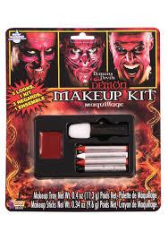 deluxe demon makeup kit
