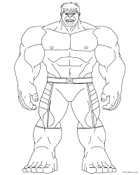 hulk coloring pages 1