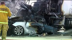 CHP: Two Killed in Fiery Crash Involving 7 Vehicles on I-5, West of ...