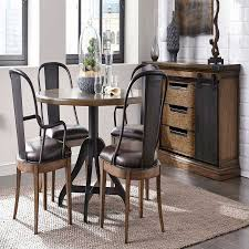 gorgeous black leather dining room chairs designsolutions usa ideas with cream leather dining chairs