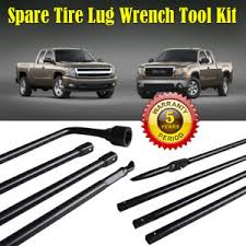 HOT! Spare Tire Lug Wrench Jack Tool Kit for Chevy GMC Cadillac ...