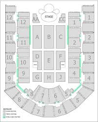 seating plan arena