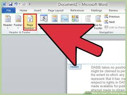 Microsoft Word Apa Header How To Insert A Running Head 13 Steps With Pictures Wikihow