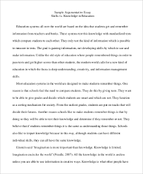sample argumentative essay examples in pdf word argumentative essay format sample