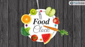 Food Presentation Template Food Clock Prezi Presentation Template Creatoz Collection