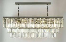 rectangular iron chandelier retro palladium glass fringe lighting w d 1 gallery chandeliers rectangle wrought ir