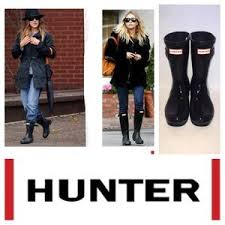 hunter boots size 6 hunter boots shoes hunter original short black gloss rain boot