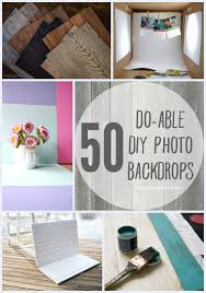 50 do able diy photo backdrops a collection of inspiration from across blogland for