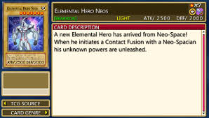 elemental hero neos force 1