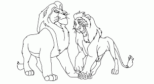 Small Picture Animal Coloring How To Draw Scar From Lion King Step 7 How To Draw