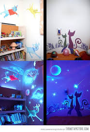 glow in the dark paint for wallsAwesome Wall Decor  The Meta Picture