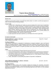 Raharjo Pujono - Resume