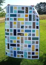 My most RePinned of all my fabric-related pins. I love the pattern ... & Modern quilt. Easy block just turned. Adamdwight.com