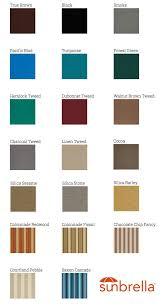 Sunbrella Color Chart Spa Cover Design