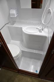 rv wet bathroom kit design ideas