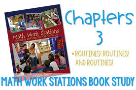 Math Work Stations Routines