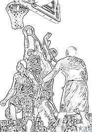 Basketbal Kleurplaten Kidre