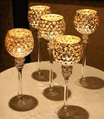 goblet candle holder gold candle holders glass goblet candle holders
