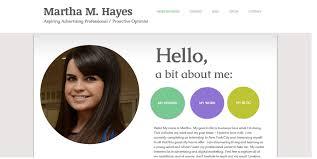 Stellar Examples Of Creative Online Portfolio Personal Websites