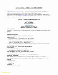 Resume Career Objective For Mechanical Engineer New Diploma Resume