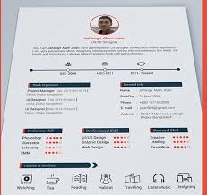 Best Free Resume Templates In Psd And Ai In 2018 Colorlib With
