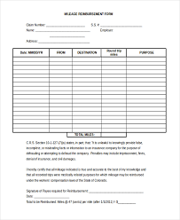 Expense Reimbursement Template Impressive Sample Reimbursement Form 48 Free Documents In Doc PDF