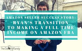 Full Time Fba Sales Rank Chart Amazon Seller Success Story Ryans Transition To Making A