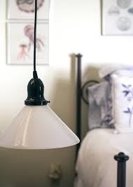 vintage pendant lights spotted in 1840s antebellum home
