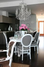 crystal chandelier in the kitchen 4