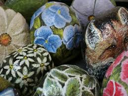 rock painting is perfect for families with kids