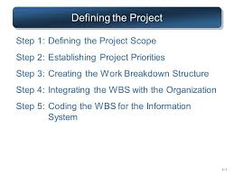Ch 4 Project Definition Ppt Video Online Download