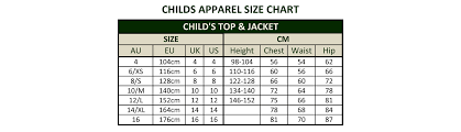 American T Shirt Size Chart To Uk Coolmine Community School