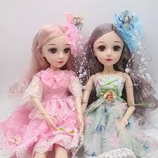 1/4 BJD Búp Bê 48 cm nữ phần Nhựa di chuyển con búp bê Dolls