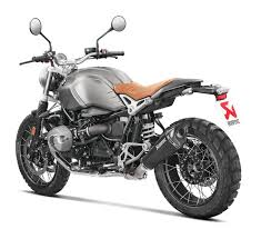 akrapovic slip on exhaust bmw r ninet scrambler racer pure