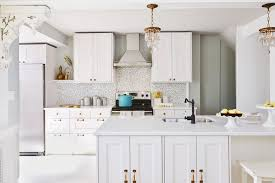 All White Kitchen Designs Decoration Awesome Design