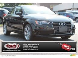 Brilliant Black Audi A3