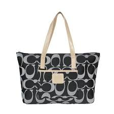 Discount Coach Legacy Logo In Monogram Medium Black Totes BPY Clearance    fashion for you.c   Pinterest   Coach legacy, Black tote and Outlets