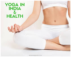 yoga in india and health working