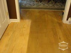 after years of cleaning my oak floors with s such as mop glo quickshine