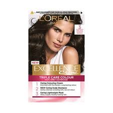 Creme Of Nature Permanent Hair Color Chart Excellence Creme 3 Natural Darkest Brown Hair Dye