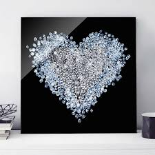 outstanding silver glitter wall decor adornment wall decoration design of liquid wall art with swarovski crystals