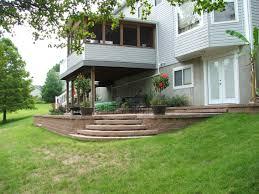 raised concrete patio luxury retaining wall steps al 1