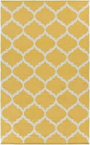 yellow and white rug vogue yellow white geometric trellis rug modern rug artistic weavers yellow and