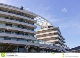 Curved Architecture U Curved Building Architecture Royalty Free Stock Images Image